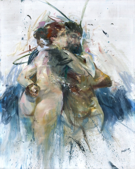 The Couple (after Bouguereau)_150x120cm_04-06.2019